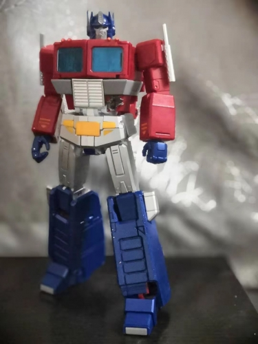 (In stock) Silver Leg Verison-With New Joints&Lots Die-cast&LED Sound Effect!~None Brand Transformers Masterpiece MP44 MP-44 Optimus Prime Version 3.0