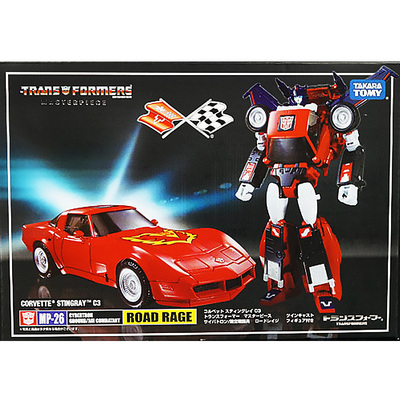 (In stock!Faster delivery!) Transformers Masterpiece KO MP26 MP-26 Road Rage