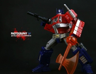 (In stock!Faster delivery!) Transformers Masterpiece KO MP10 MP-10 Optimus Prime JP version (Dark Blue)