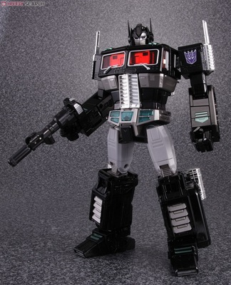 (In stock!Faster delivery!) Transformers Masterpiece KO MP10B MP-10B Nemesis Prime Black Convoy Optimus Prime