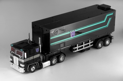 (In stock!Faster delivery!) Transformers Masterpiece KO Trailer for MP10B MP-10B Nemesis Prime Black Convoy Optimus Prime