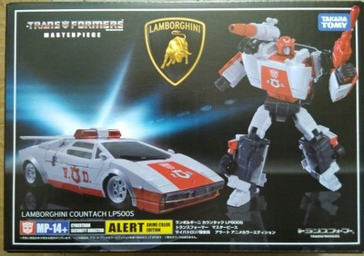 (In stock!Faster delivery!) Transformers Masterpiece KO MP14+  MP-14+ Alert