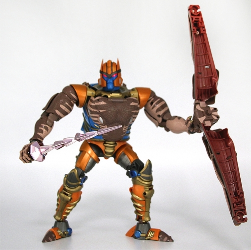 (In Stock) Transformer Toy None Brand Masterpiece Beast War MP-41 MP41 Dinobot KO