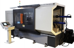 TSM1000D CNC Double Rollers Spinning and Turning Machine