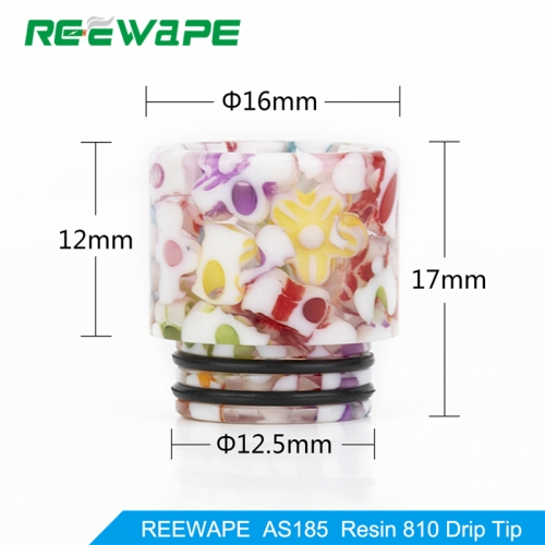 RW-AS185  Resin 810 Drip Tip