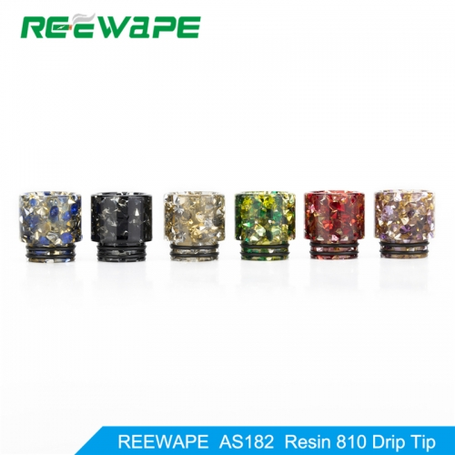 RW-AS182  Resin 810 Drip Tip