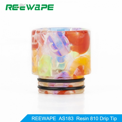 RW-AS183  Resin 810 Drip Tip