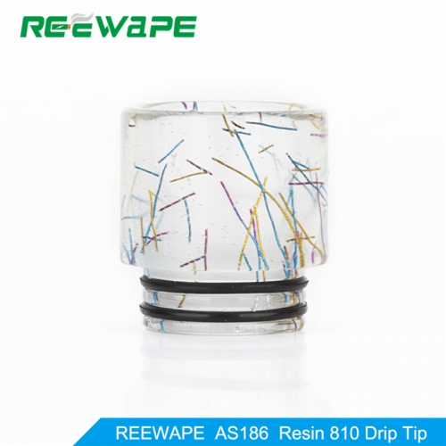 RW-AS186 Resin 810 Drip Tip