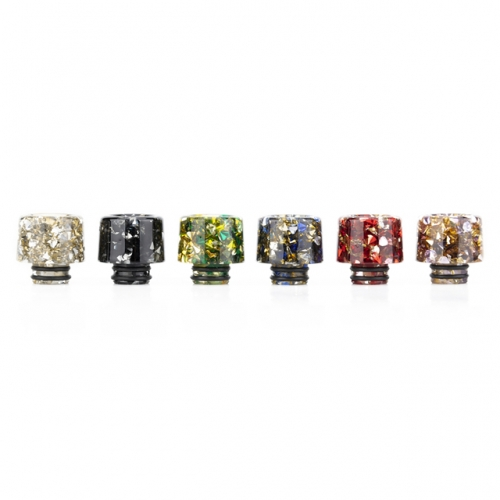 RW-AS188 Imported ResinSynthetic Diamond 510 Drip Tip