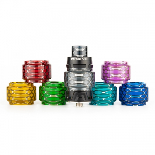 Reewape Replacement ResinTube And Drip Tip Set Fit for Vaporesso SKRR&NRG Tank