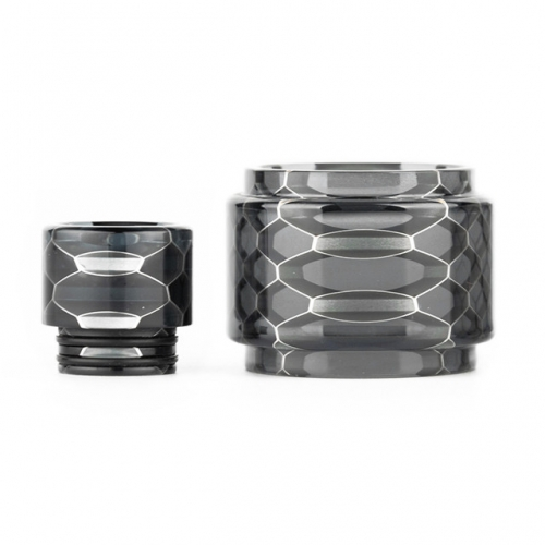 RW-Resin Tube and Drip Tip set For Resa  tank