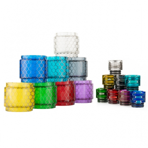 RW-Resin tube And Drip Tip Set For TFV8 Tank