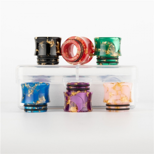 RW-R4 Resin 810 drip tip kit