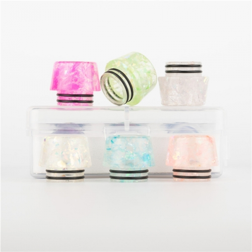 RW-R11 Resin 810 Drip Tips kit