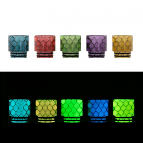 RW-AS249SY Resin 810 Luminous Drip Tip
