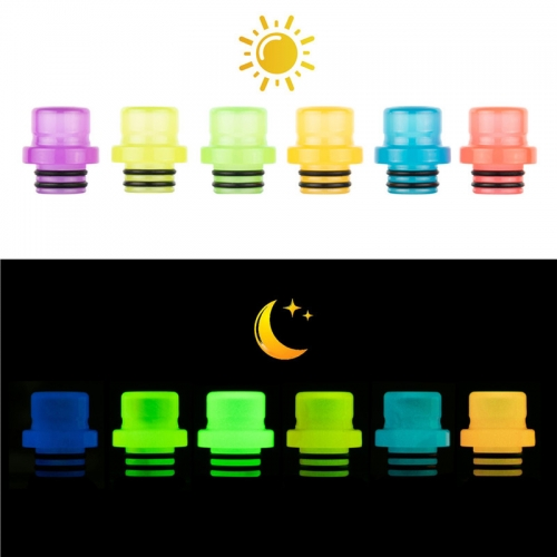 RW-AS261Y Resin 510 Luminous Drip Tip