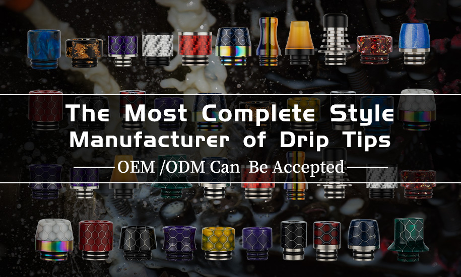 510 Drip Tip vs 810 Drip Tip: All You Need to Know About Drip Tips