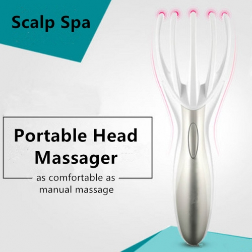 Hand-shaped Electric Head Massager Claw for Comfortable Scalp Spa
