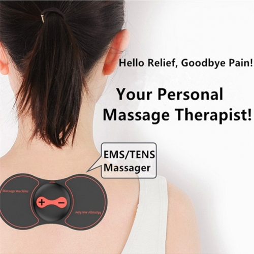 Mini Wireless Tens Therapy Deep Tissue Massager Sticker
