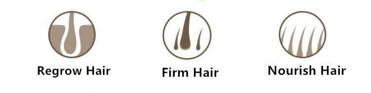 The RF Laser Comb can regrow hair, firm hair and nourish hair.
