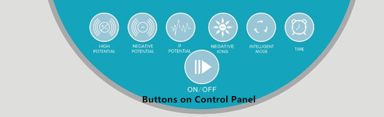 The High Electric Potential Therapy Machine has several buttons on operation panel for free choice.