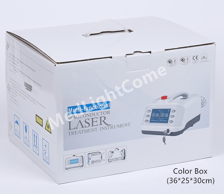 Package of Sprained Knee Pain Low Level Laser Therapy Machine