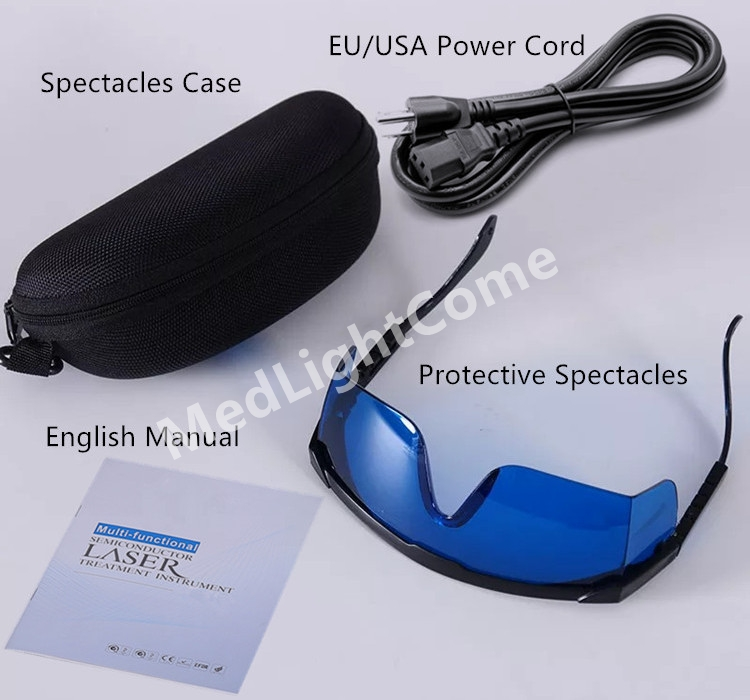 Accessories of Sprained Knee Pain Low Level Laser Therapy Machine