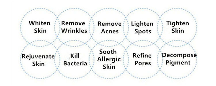Various Functions of Facial Skincare LED Mask