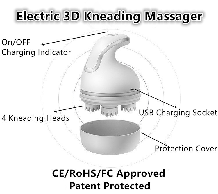 Structure of Full Body Massager Machine