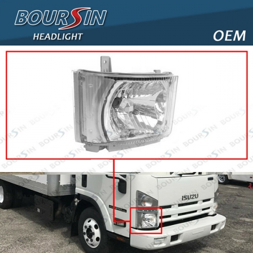 OEM HeadLamp For ISUZU NPR NPR-HD NQR NRR Reach Headlight 2008-2019 Passenger Side
