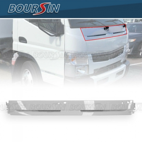 Front Panel Garnish For Mitsubishi Fuso Canter FE160 FE125 FE180 FG4X4 2012-2018 White