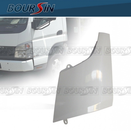 Side Corner Panel For Mitsubishi Fuso Canter FE120 FE125 FE140 FE145 FE180 2005-2011 Metal White LH
