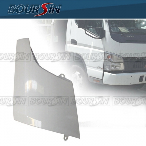 Side Corner Panel For Mitsubishi Fuso Canter FE120 FE125 FE140 FE145 FE180 2005-2011 Metal White RH
