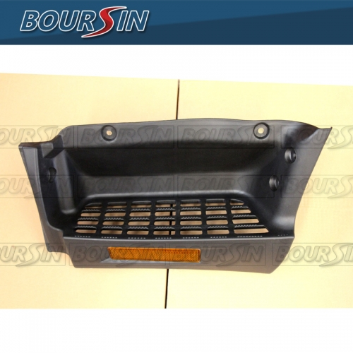 Side Plate Step For Mitsubishi Fuso Canter FE FG FE125 FE145 FE180 FG140 FE84D FG84D FE85D 2005-2011 W/ Reflector Driver Side
