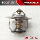 Engine Coolant Thermostat For Mitsubishi Fuso 6D14 6D15 FM555 FK415 FK455 6.6L
