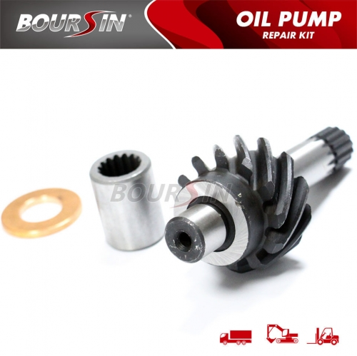 Pinion; Oil Pump Driving For ISUZU NPR NRR 4BD1 6BD1 4BG1 6BG1 Pinion+Collar+Coupling