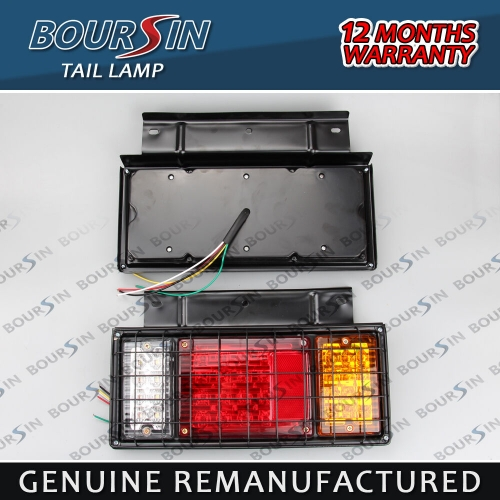 Tail Lights For ISUZU Elf NPR NKR NHR Truck Rear Lamp Steel 12V LED Universal