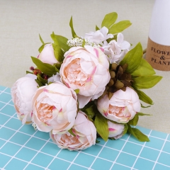 Pack of 50pcs European style peony bunch flower
