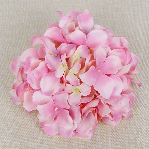 Pack of 50pcs high quality 55petals artificial hydrangea flower head