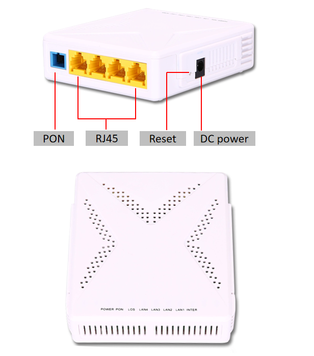 4FE ONU 4ports GPON ONT features