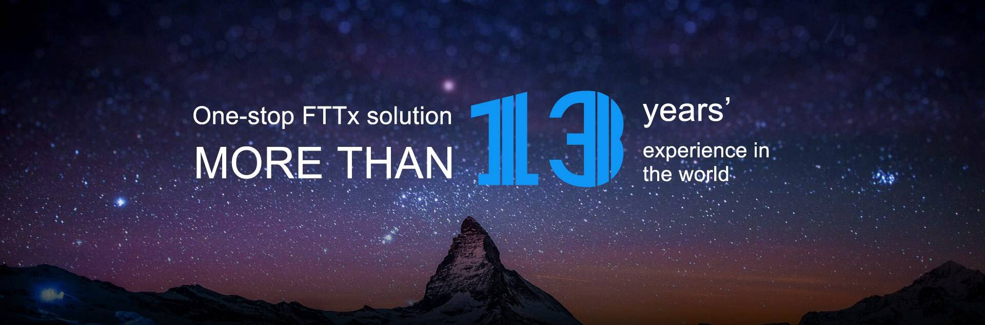 one-stop fttx solution