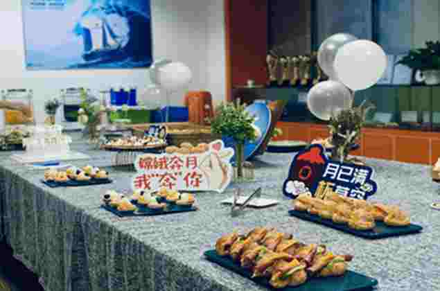 Celebrate the Mid-Autumn Festival-also September & October employee birthday party