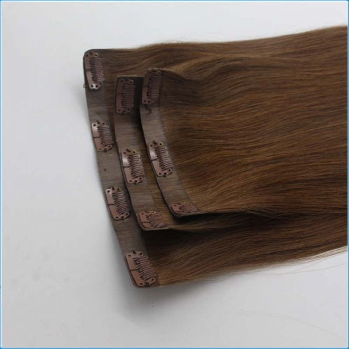 18inch Clip in tape hair weft Japan, South Korea,Fashion hair extension
