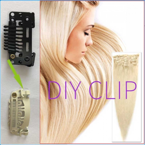 Diy clip in hair Japan, South Korea,Fashion hair extension