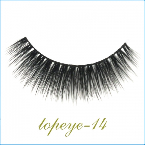 E-14 Synthic Hair Faux 3D Mink Eyelashes lash Wholesale Colorful Eyelashes