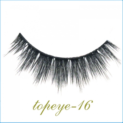 E-16 Synthic Hair Faux 3D Mink Eyelashes lash Wholesale