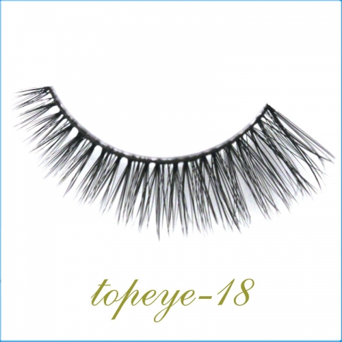 E-18 Synthic Hair Faux 3D Mink Eyelashes lash Wholesale
