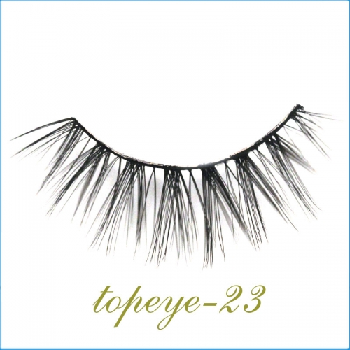 E-23 Synthic Hair Faux 3D Mink Eyelashes lash Wholesale
