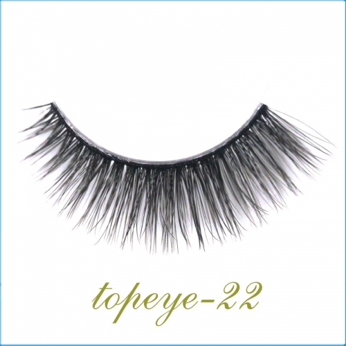 E-22 Synthic Hair Faux 3D Mink Eyelashes lash Wholesale