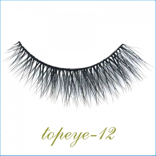 E-12 Synthic Hair Faux 3D Mink Eyelashes lash Wholesale Colorful Eyelashes